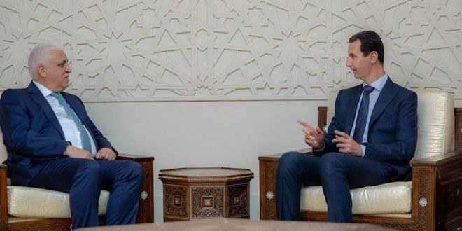 Assad: Iraq, Syria Cooperation Necessary to Finalize War on Terrorism