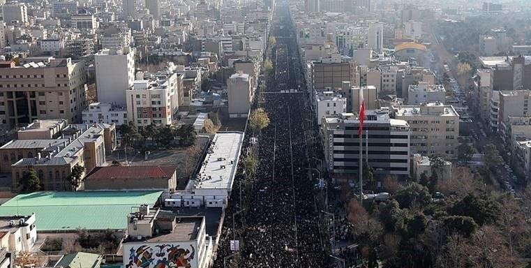 Epic Funeral Services for Gen. Soleimani Across Iran