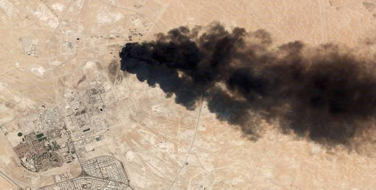 How Holes in the Burning Saudi Oil Fields Narrative Could Draw the US Into a War With Iran