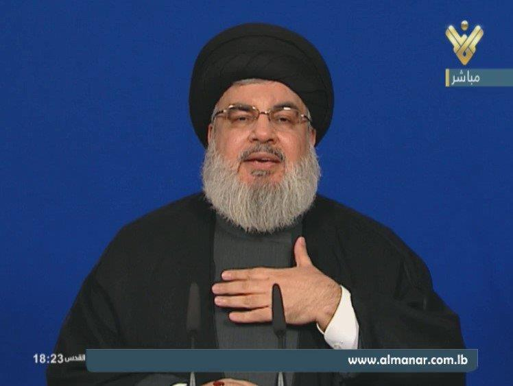 Sayyed Nasrallah: Towards Largest Representation in Cabinet, Near Victory in Syria