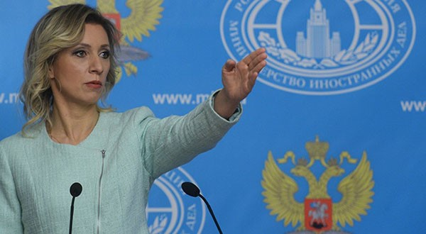 Zakharova: US Wants Syria Breakup, Not Political Resolution