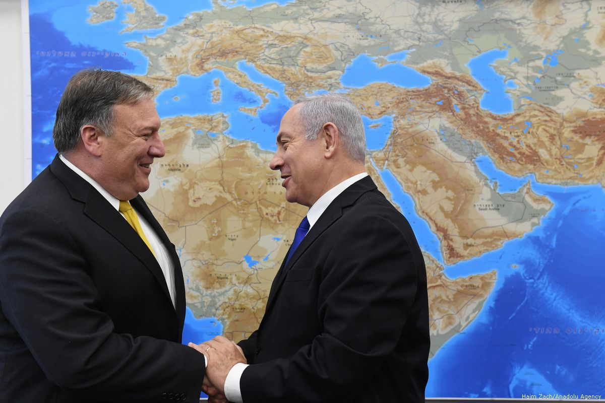 Pompeo gives Israel green light to annex land in WestBank by friendsofsyria